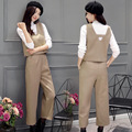 In the spring of 2017, women's new fashion three piece hair Nekuo leg pants suit Ms. nine pants