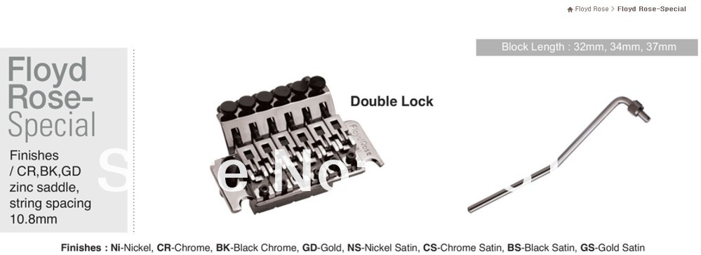 Special  Floyd Rose Tremolos  From Korean  Manufactory Chrome Color Including All The Parts FRT-S1000
