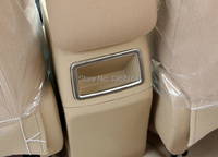 Auto Interior Accessories Armrest Sticker For Toyota Corolla 2014 2015 ABS Chrome Free Shipping