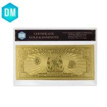 Горячая продажа USD один миллион долларовые банкноты из золотой фольги двойной дизайн американская банкнота Позолоченные банкноты/бумажные...