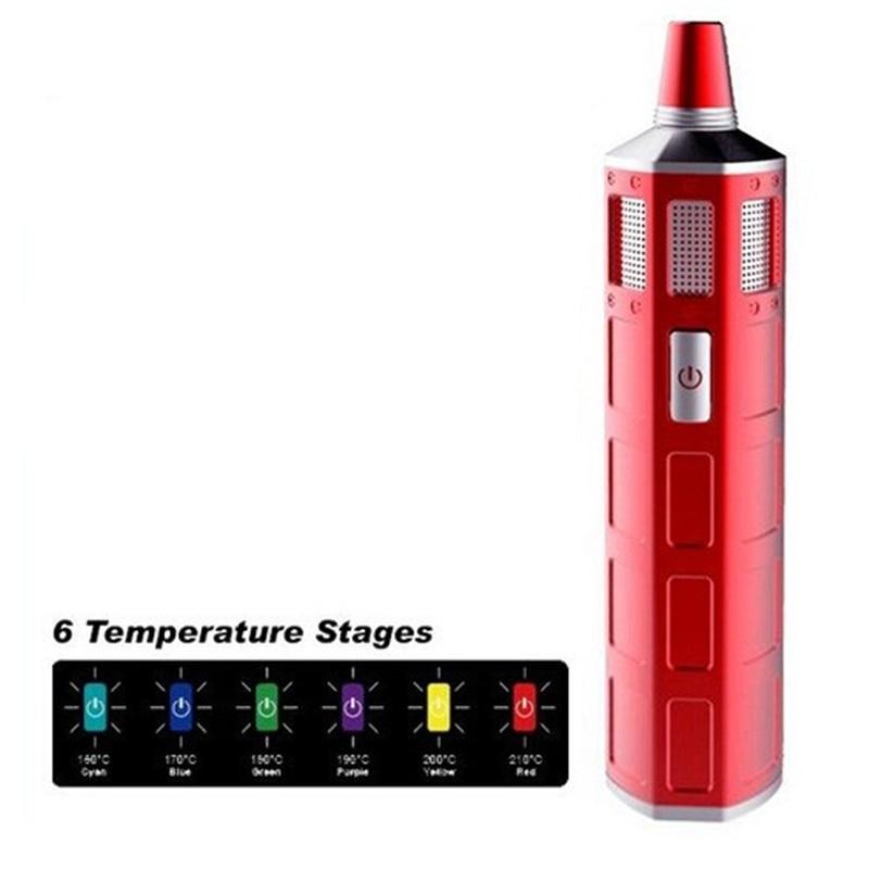 Nouvelle arrivée Herbstick o2 vaporisateur à base de plantes à température Variable vaporisateur d'herbes sèches 2200 mah Vape stylo Kit de cigarettes électroniques