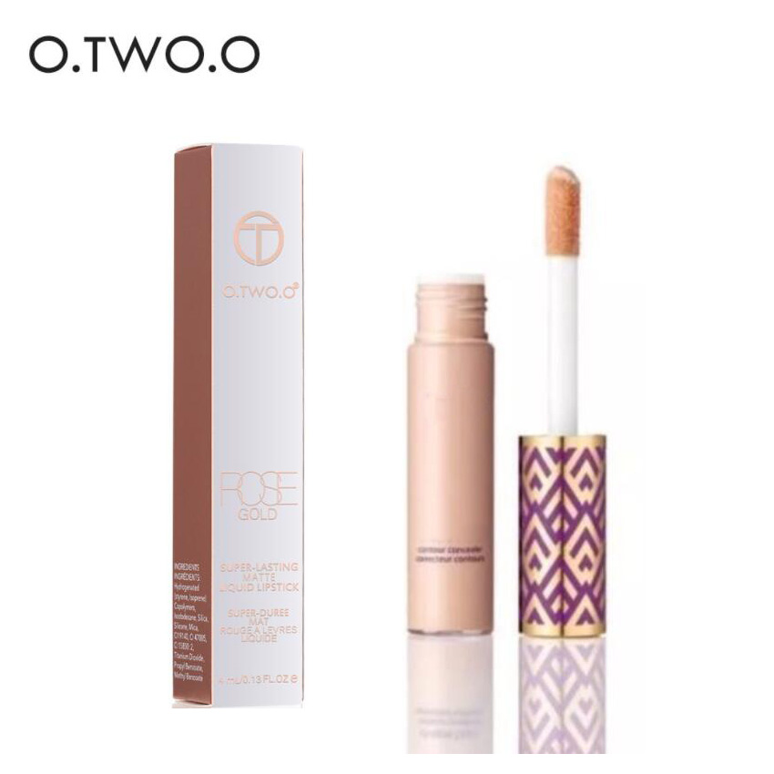 High Quality New Cosmetics Tape Contour Concealer Face Makeup 5 Shades Light Sand medium Full Coverage Long Lasting Matte
