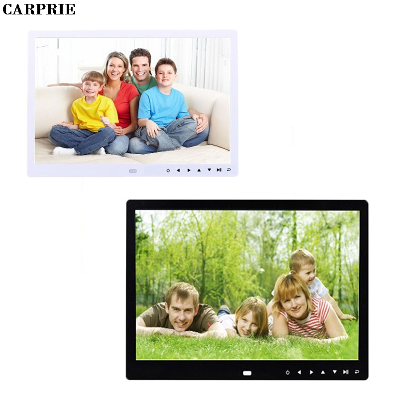 CARPRIE 12-Inch Front Touch Screen Button High-Definition Screen Digital Photo Frame MP3 Video Player Drop Shipping 65 inch touch screen windows i3 floor stand kiosk digital signage advertisement player for photo booth totem