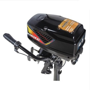 Image 4 - Brand New HANGKAI 4.0 Model Brushless Electric Boat Outboard Motor with 48V 1000W Output Fishing Boat Engine