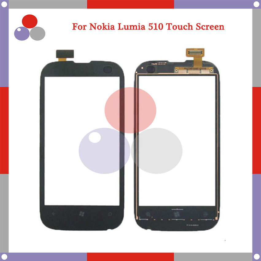 High Quality For Nokia Lumia 510 N510 Touch Screen Panel Sensor Digitizer Outer Glass Lens