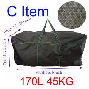 Image 3 - 대용량 카약 풍선 PVC 보트 스트랩 가방 물 스포츠 선체 운반 가방에 대 한 내구성 낚시 보트 스토리지 가방