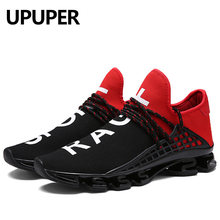a930776ef6bb Mens Running Shoes 2018 Lace-up Exercise Unisex Sneakers for Men Breathable  Mesh Sport Shoes