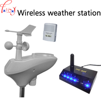 Беспроводной метеостанции Беспроводной передачи данных загрузки хранения данных, открытый датчиком + внутреннего датчик 1 шт.