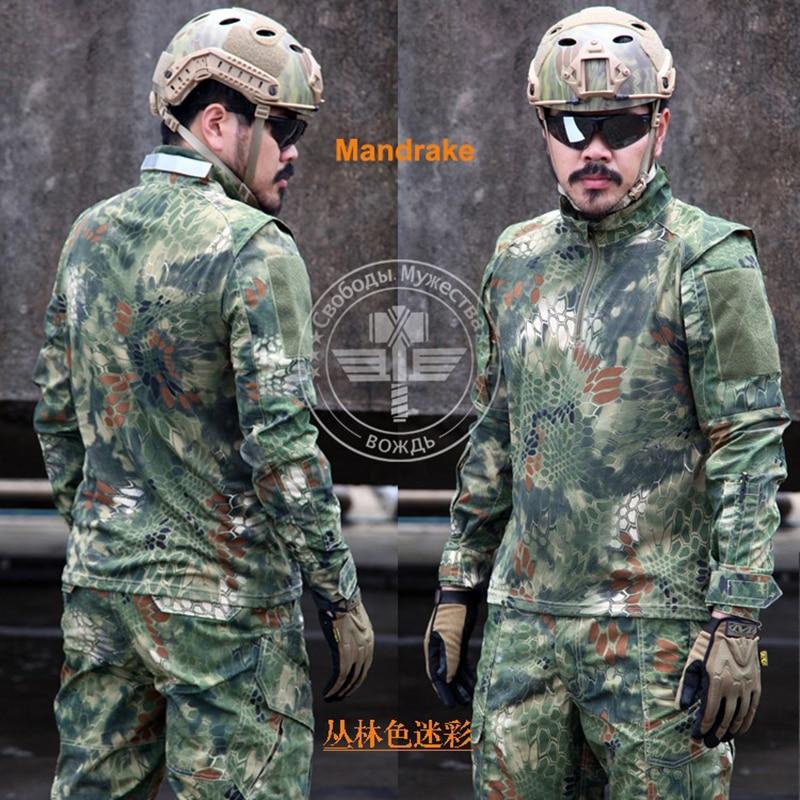 Army Military Tactical Pants and Combat Jackets Uniform Camouflage Kryptek CS Game Uniform Sets Men Clothing Set multicam uniforms acu camouflage uniform military tactical shirt pants wholesale combat army uniform