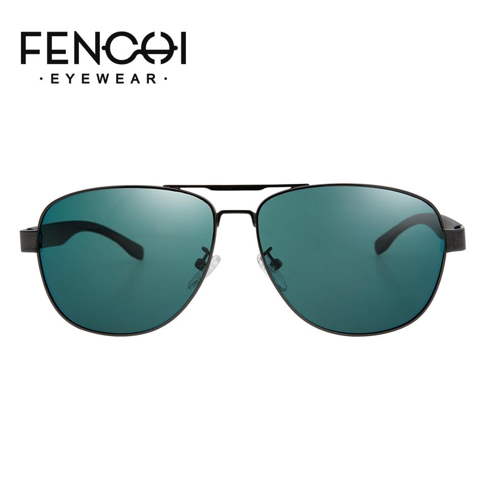 FENCHI sunglasses for men polarized brand driving retro frame unisex classic glasses occhiali da sole uomo eyewear UV400 in Men 39 s Sunglasses from Apparel Accessories