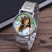 Custom Photo Watches Customized Logo Text Picture Watch Unis