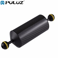 PULUZ Carbon Fiber Float Buoyancy Aquatic Arm Dual Ball Floating Arm Diving Camera Underwater Diving Tray