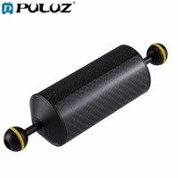 PULUZ Carbon Fiber Float Buoyancy Aquatic Arm Dual Ball Floating Arm Diving Camera Underwater Diving Tray