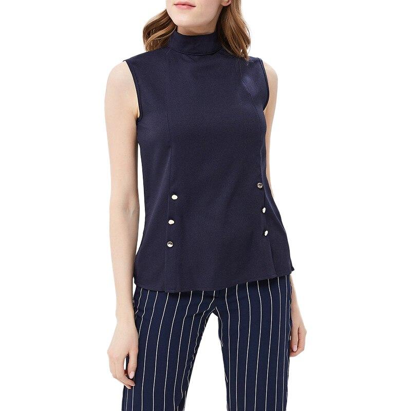 купить Blouses & Shirts MODIS M181W00385 woman blouse shirt blusas for female TmallFS по цене 699 рублей
