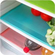 1 шт. водонепроницаемый холодильник коврик Антибактериальный противообрастающий плесени влажная салфетка под приборы коврики для холодильника