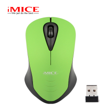iMice 2.4 Ghz 3 Buttons USB Wireless Mouse Optical Ergonomic Computer Mini Mice For Laptop PC Cordless Mouses