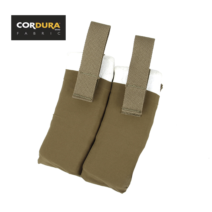 CPC Vest Side Inner Double Magazine Pouch Coyote Brown+Free shiping(XTC051032)