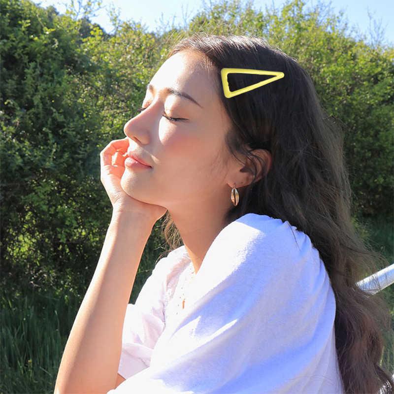 1 PC/2 PC Kawaii spinka do włosów cukierki kolor BB klip koreański mody dziewczyny geometria akcesoria do włosów kucyk asystent dziewczyna prezent
