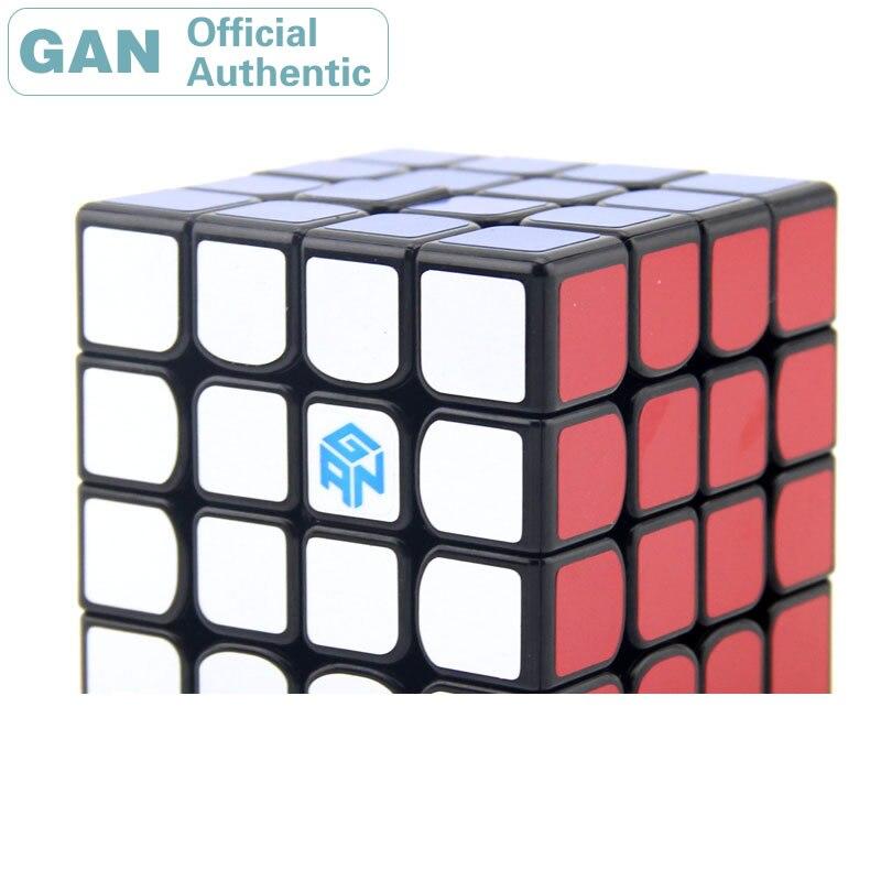 GAN 460 M magnétique 4x4x4 Cube magique 4x4 GAN460 Cubo Magico professionnel néo SpeedCube Puzzle Antistress Fidget jouets pour enfants
