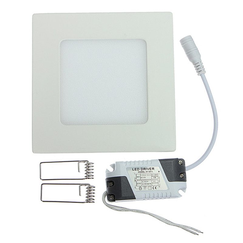 10pcs 6W Square Panel Light Cold White 6000K 20pcs 12W Dimmable Driver 20pcs 12W Not Dimmable