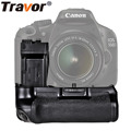 Travor סוללה מחזיק גריפ Canon 550D 600D 650D 700D Rebel T2i T3i T4i T5i לעבוד עם LP-E8 סוללה החלפה BG-E8