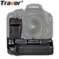 Travor pil yuvası Tutucu için Canon 550D 600D 650D 700D Rebel T2i T3i T4i T5i çalışma ile LP-E8 pil değiştirme BG-E8