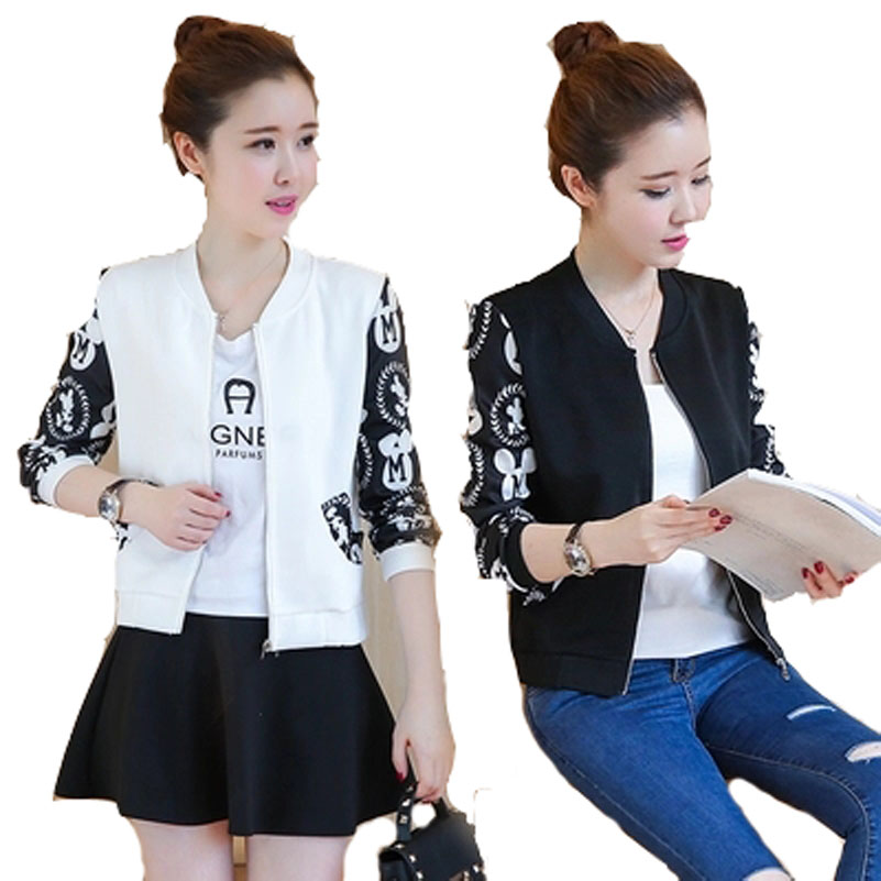 Fashion Baseball Jacket For Women Zipper Long Sleeves Casual Coat Plus Size Casual Baseball Sweatshirt  Long Sleeves Coat Jacket