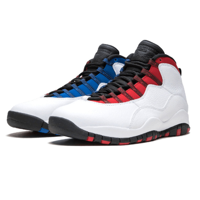 hot Retro Tinker 10 Men Basketball Shoes White  Man Sport Sneakers Westbrook Chicago Blue Outdoor Shoes New Arrival