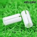 KELUSHI 5 pcs Ferramenta Accessary o localizador Visual de falhas de Fibra FTTH cabo de fibra testador Accessary-núcleo de Cerâmica branca de manga