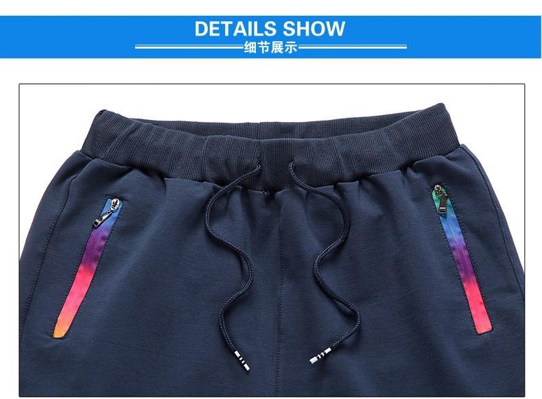 HTB1tYnEao rK1Rjy0Fcq6zEvVXaV Spring Summer Mens Pants Fashion Skinny Sweatpants Mens Joggers Striped Slim Fitted Pants Gyms Clothing Plus Size 5XL Harem Pant