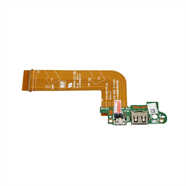 MLD DB USB Charge port PCB Board FOR DELL VENUE 11 PRO T06G 5130 Tablet