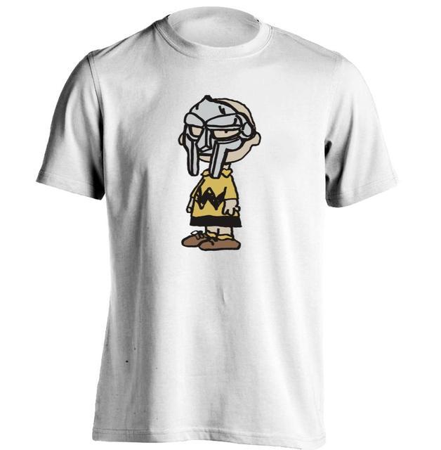 Charlie perdição Charlie Brown MF desgraça Wu Tang Madlib Madvillain homens & das mulheres camisa impressão de T