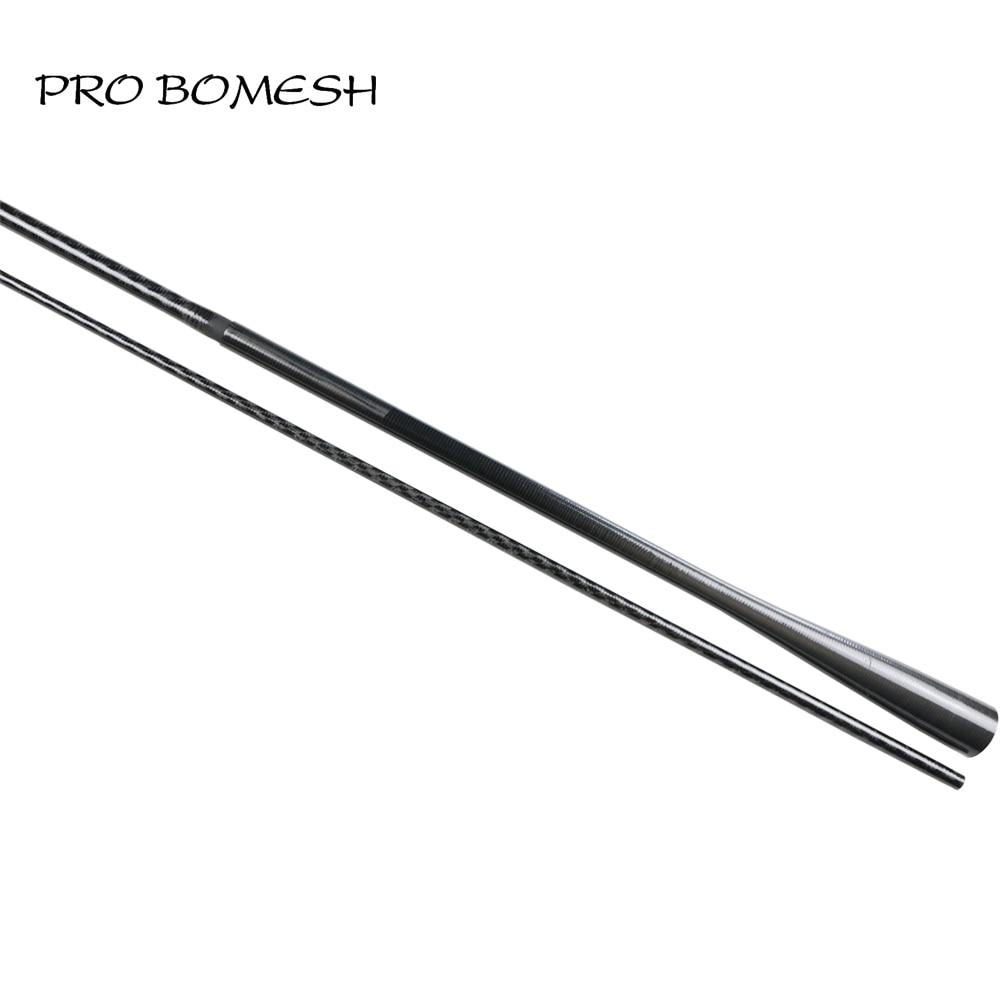 pro-bomesh-2-blanks-21m-64g-m-2-section-carbon-fiber-x-ray-wrap-lure-font-b-fishing-b-font-rod-blank-tapered-butt-diy-rod-building-blank