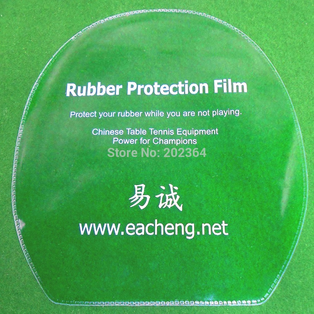 16x Eacheng Table Tennis Rubber Protection Film For Ping Pong Racket