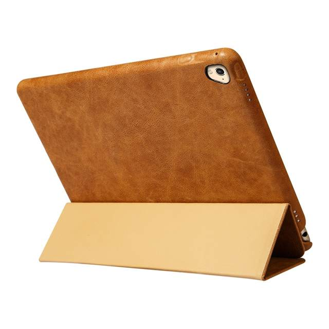 uk availability 3fb34 d763a Jisoncase Smart Case for iPad Pro 9.7 Case Cover Genuine Leather Luxury  Magnetic Tablet Smart Cover for Apple iPad Pro 9.7 inch