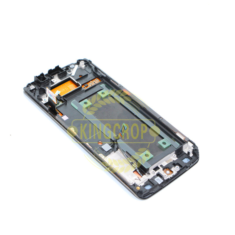 5.1For Samsung Galaxy S6 Edge LCD G925 G925F SM-G925F Display Touch Screen Digitizer Assembly with frame For SAMSUNG S6 Edge LCD