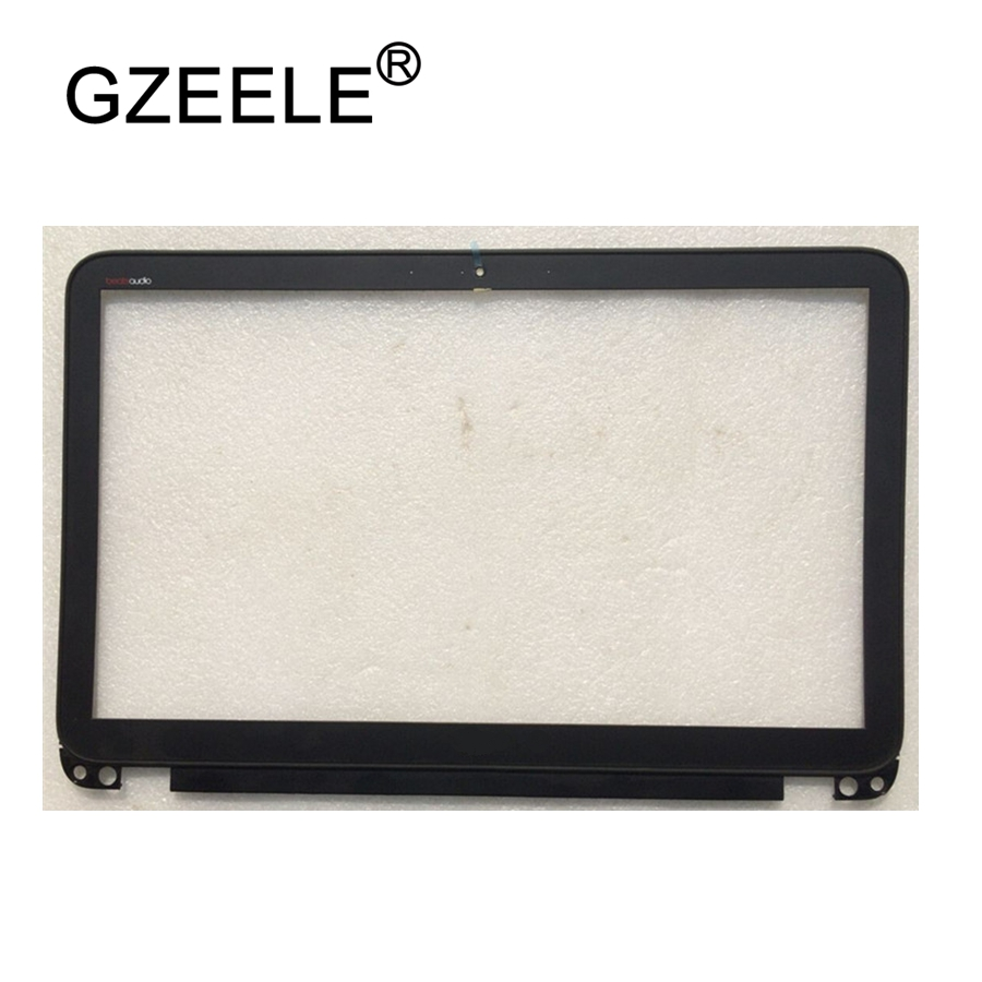 GZEELE Laptop LCD Back Cover screen For HP FOR Envy 15 15-J 15-J000 15-J100 LCD Front Bezel Cover 720535-001 B Shell touch BLACK new for hp 15g 15r 15 g040ca 15 6 lcd back cover