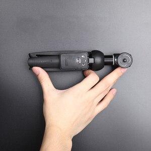Image 5 - Mini składany 3 w 1 Selfie Stick statyw Monopod Bluetooth zdalnego dla iPhone 7 8 X Xiaomi Huawei Samsung Gopro tutaj 5 4 Yi Cam