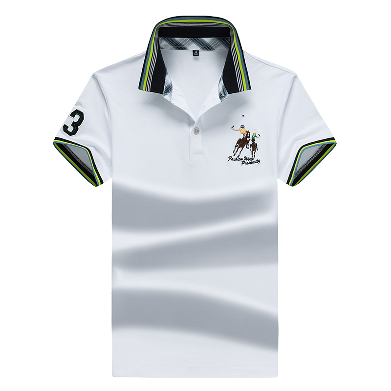 Eden Park Men's   Polo   Shirt Solid Color Cotton Crocodile   Polo   Shirt Casual Breathable High Quality Golf   Polo   Size M-3XL;YA237