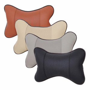 Image 2 - 1Piece Car Seat Headrest Head Neck Pillow Comfortable Soft Pad Neck Rest Support Cushion Car Neck Pillow Auto Head in car pillow