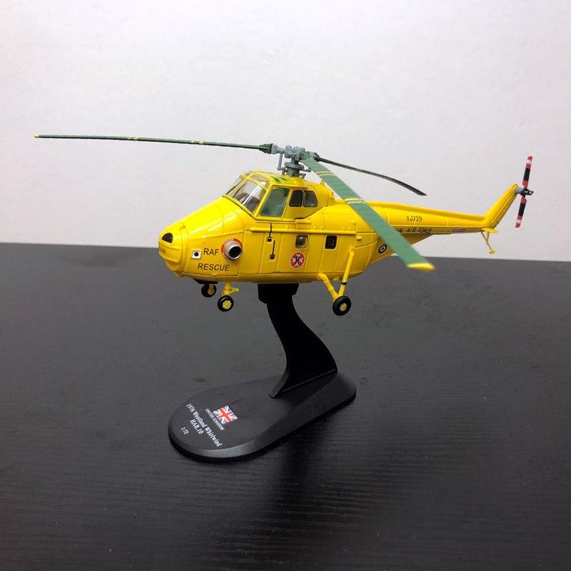 Фирменная Новинка Амер 1/72 Весы Westland 1976 Вихрь HAR.10 спасательный вертолет литья под давлением Металл самолета Модель игрушки для подарка/Колл...