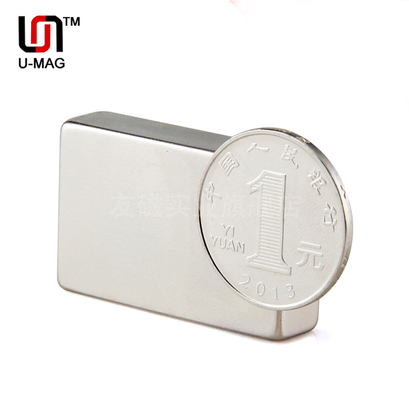 1pcs Strong Block Magnets 40x25x10mm N50  Neodymium Rare Earth Magnet free shipping  Cuboid 2015 limited direct selling neodymium magnets 2 pcs lot 50x25x10mm n50 strong block cuboid magnet rare earth neodymium