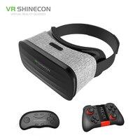 2017 Original VR Shinecon 3D Immersive Virtual Reality Glasses Cardboard VR Box Headset For 4 3