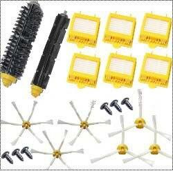6 Hepa Filter +main Brush kit + 6 x side brush + 6 Screw kit for iRobot Roomba 700 Series 760 770 780 790 accessory replacement