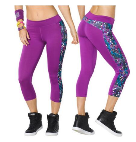 Show details for ADIBAO Womens  Trousers  Sports Running Capri  Tight Clothes Capri  Legging  Capri Pants Dance Wear Yago Leggginggs Bottom P469