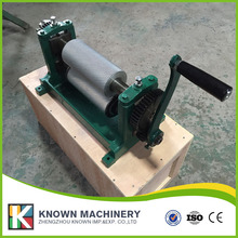 250mm Hot sale Manual Beeswax foundation machine cell size 5 4mm or 5 1mm