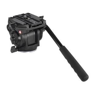 Image 2 - Kingjoy VT 3510 Aluminum Alloy Video Tripod Head 360 Degree Panoramic Camera Stand Fluid Damping Holder