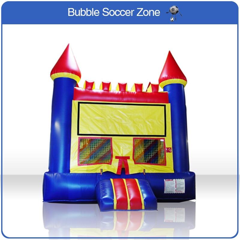 Livraison gratuite jeux trampoline pour enfants Trampoline gonflable château gonflable jeux plein air jouet toboggan gonflable avec souffleur