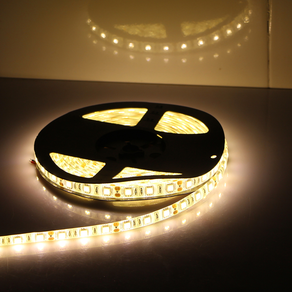 5050 Led Ribbon Lights: Quality Led Strip 5050 SMD Fita Flexible Light Waterproof