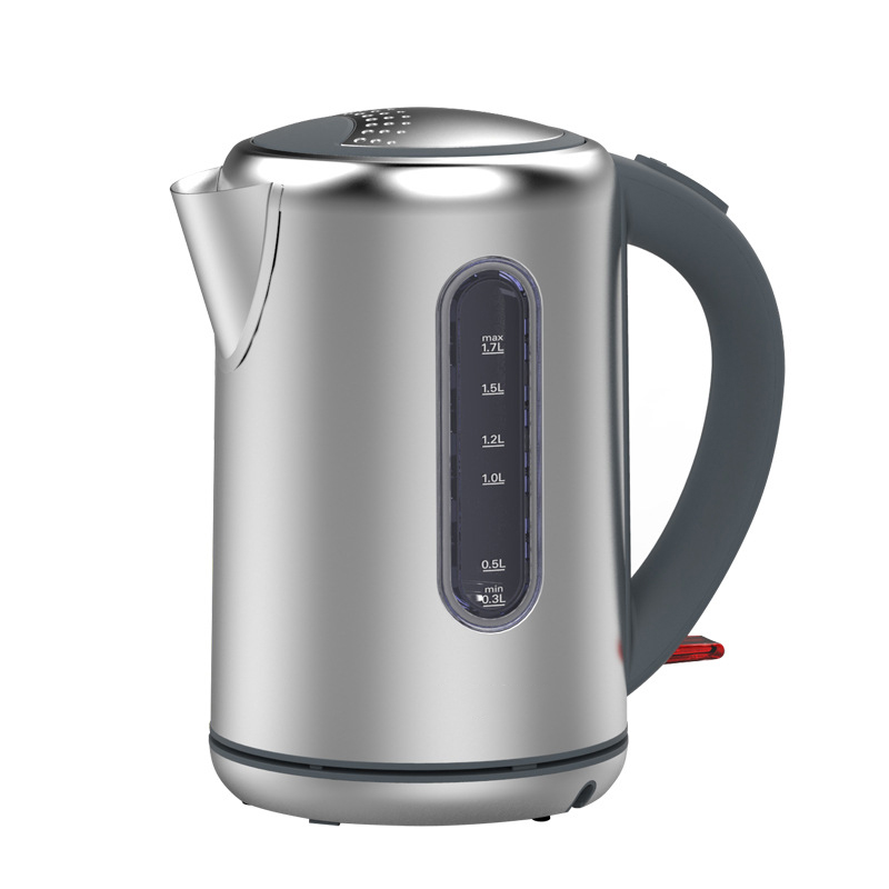 1.7L Good Quality Electric Kettle Food Grade Stainless steel and PP Material Electric Boiling Pot For Household /Office